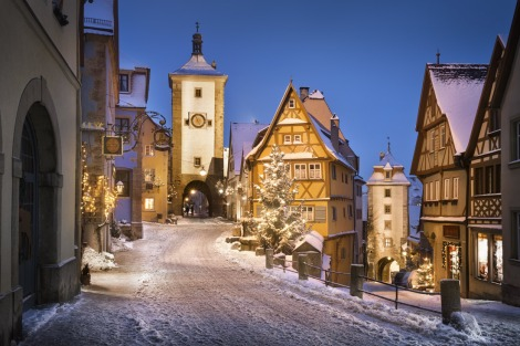 Rothenburg in the Snow