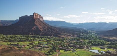 aerial panoramic view