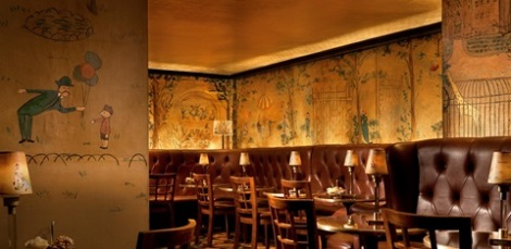Bemelmans Bar, truly a hidden gem in the Upper East Side.