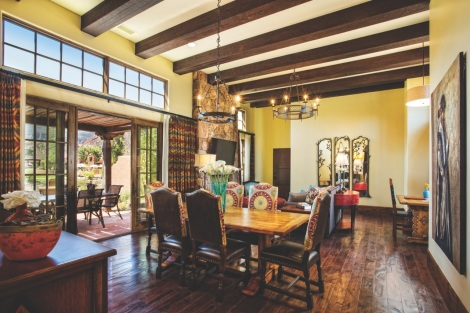 casita dining room