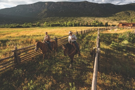 The horseback rides are a must-do at Gateway Canyon Resort.